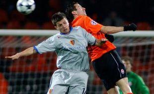 Le Shakhtar Donetsk gagne 5-0 face à Bâle le 26 novembre 2008.