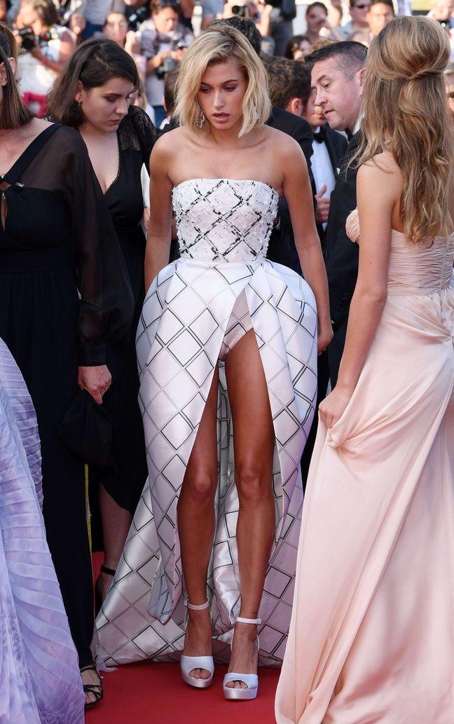 Hailey Baldwin à Cannes le jeudi 25 mai.