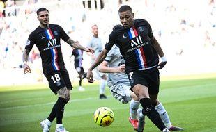 Kylian Mbappe se promène dans ce match amical contre Le Havre dimanche 12 juillet 2020.