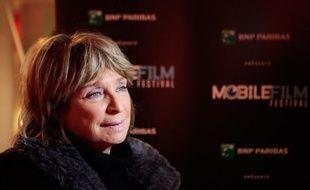 Danièle Thompson, lors du Mobile Film Festival, le 8 février 2012 à Paris
