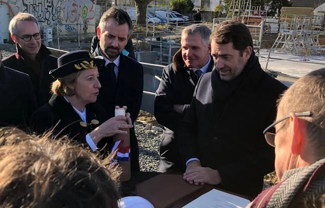 Rennes: Christophe Castaner lance l'unique chantier de préfecture de France