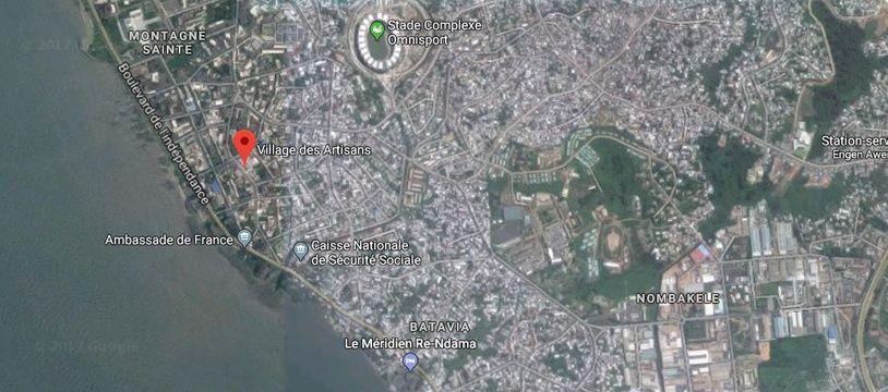 Le Village des Artisans, à Libreville.