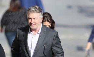 Alec Baldwin arrivant aux studios ABC à Los Angeles