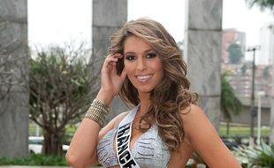 Laury Thilleman, Miss France 2011, au concours Miss Univers, le 22 août 2011.