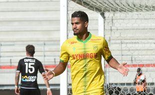 Le Nantais Ludovic Blas a signé un doublé ce dimanche après-midi dans le derby face à Angers.