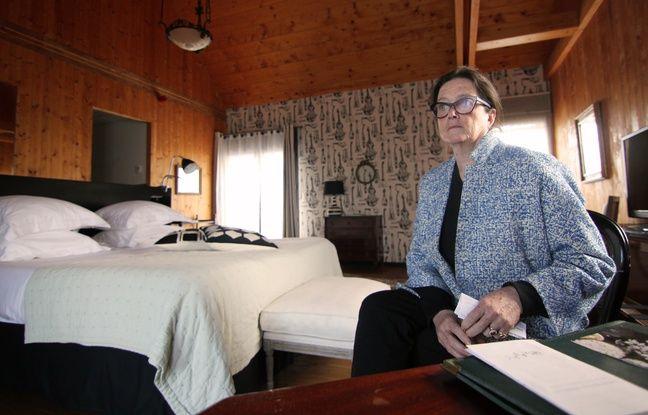 Véronique Brégeon est propriétaire de l'hôtel restaurant Lecoq-Gadby à Rennes. Ici dans une chambre de l'hôtel.