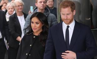 Meghan Markle et le prince Harry.