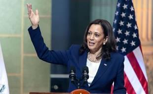 La vice presidente américaine, Kamala Harris en visite au Guatemala en juin 2021.