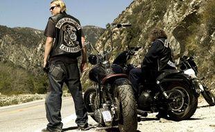 L'acteur Charlie Hunnam, dans la série «Sons of Anarchy».