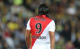 Radamel Falcao lors de son dernier match en Ligue 1, contre Nantes, le 24 août 2014.