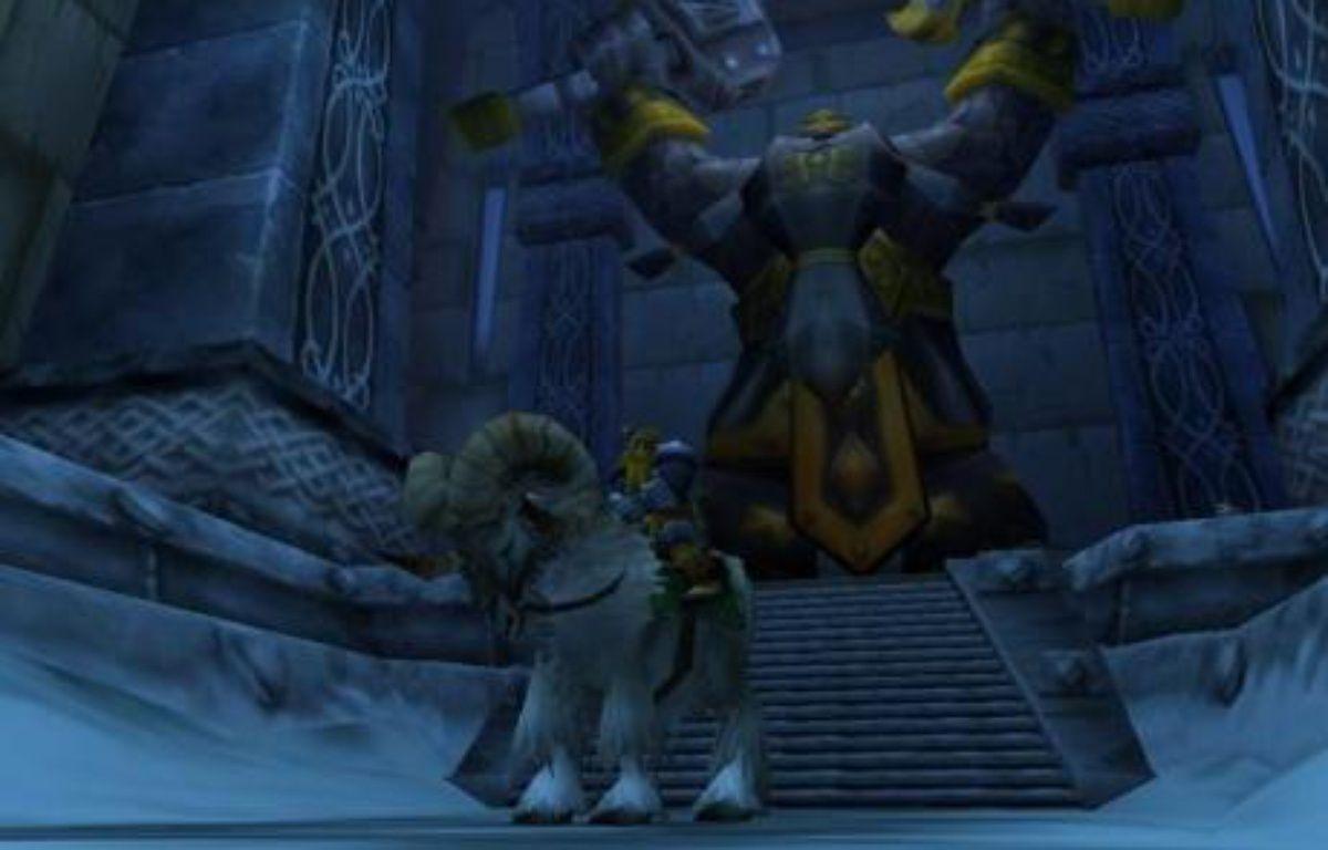 Photo extraite du jeu World of Warcraft. – DR