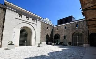 L'entrée de la prison de la Santé en juin 2018.