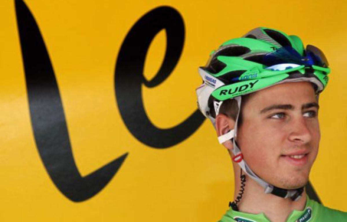 Le Slovaque Peter Sagan, le 4 juillet 2012 à Abbeville. – B.Cristel / REUTERS