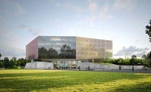 Le futur palais de justice de Lille.