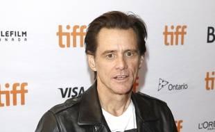 L'acteur Jim Carrey au 42e TIFF