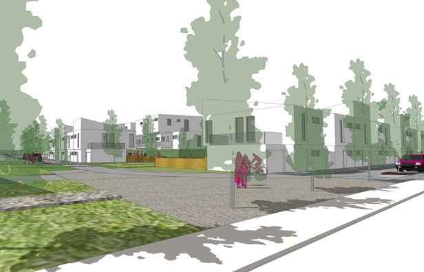 Bruges maisons neuves vendre pour euros dans le for Budget construction maison 200 000 euros