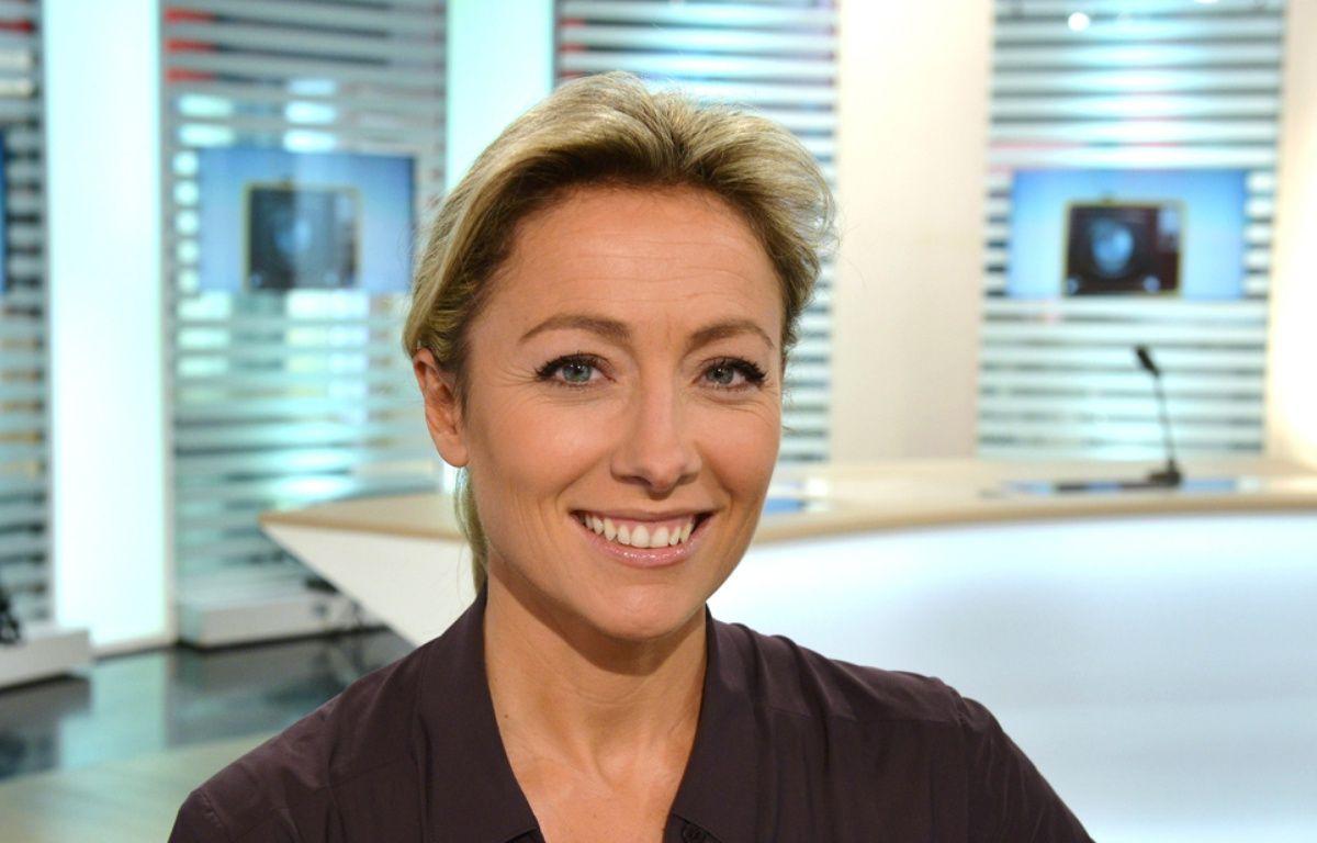 La journaliste Anne-Sophie Lapix. – IBO/SIPA