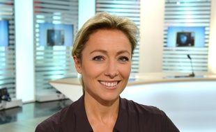 La journaliste Anne-Sophie Lapix.