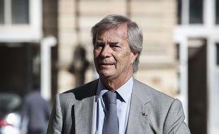 Soupçonné de corruption, l'homme d'affaires Vincent Bolloré a été mis en examen le 25 avril 2018.