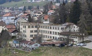 Le squat où ont été retrouvées Mia et sa mère, à Sainte-Croix en Suisse.