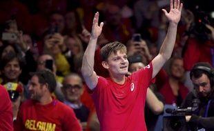 David Goffin a bien lancé la Belgique.