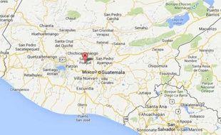 Googlemap de San Martin Jilotepeque.