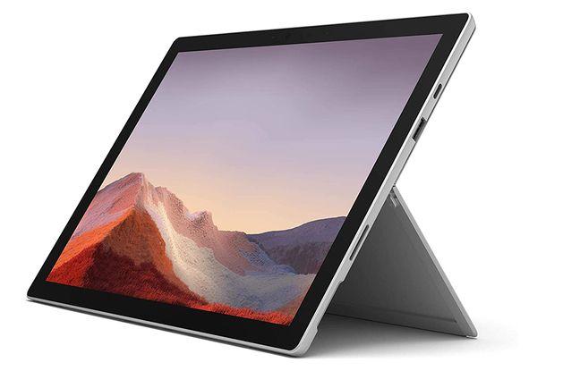 La tablette PC hybride Microsoft Surface Pro 7.