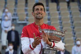 Novak Djokovic a remporté son deuxième Roland-Garros, le 13 juin 2021.