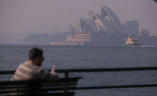 Une photo de la ville de Sydney, le 27 avril 2021.