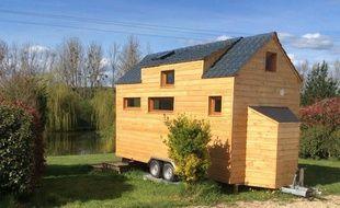 Les tiny houses d'Arnaud Tillard sont vendues entre 20.000 et 42.000 euros.