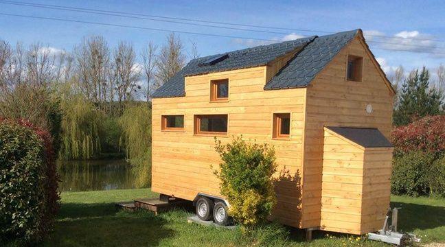 Rennes des micro maisons cologiques en bois sortent de terre for Micro maison bois