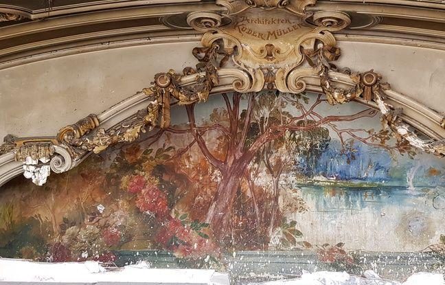 La fresque du Palais des fêtes
