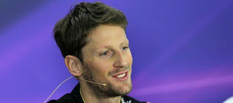 Romain Grosjean à Austin le 30 octobre 2014.