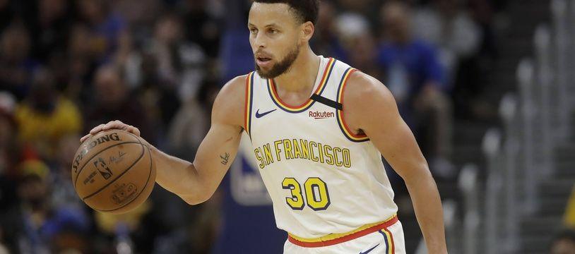 Stephen Curry a rejoué après quatre mois d'absence, le 6 mars 2020.
