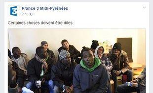 France 3 Midi-Pyrénées réagit aux commentaires haineux sur les migrants.
