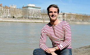 Pierre Grandjean et son vêtement phare, la marinière, lancée en 2012.