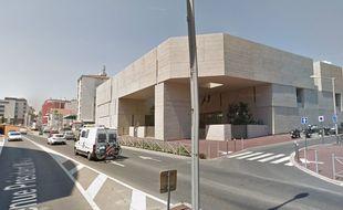 Le palais de justice de Béziers.