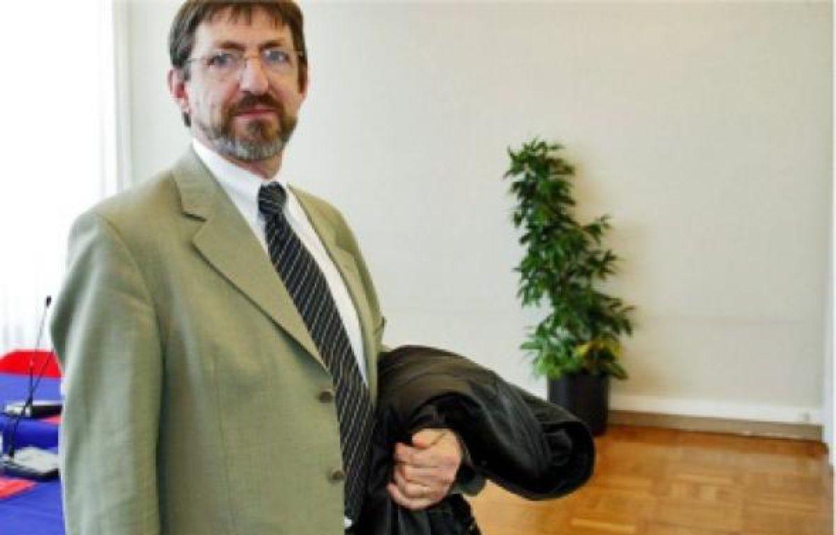 Jean-Louis Deroussen (CFTC) lance une« ultime alarme » au gouvernement. –  MEIGNEUX / SIPA