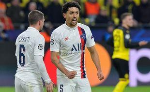Marquinhos à Dortmund le 18 février 2020.