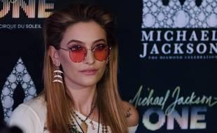 L'actrice et chanteuse Paris Jackson