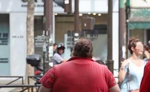 Illustration de l'obésité.