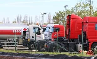 Le 3 avril 2016 explosion de camion citernes a Bassens