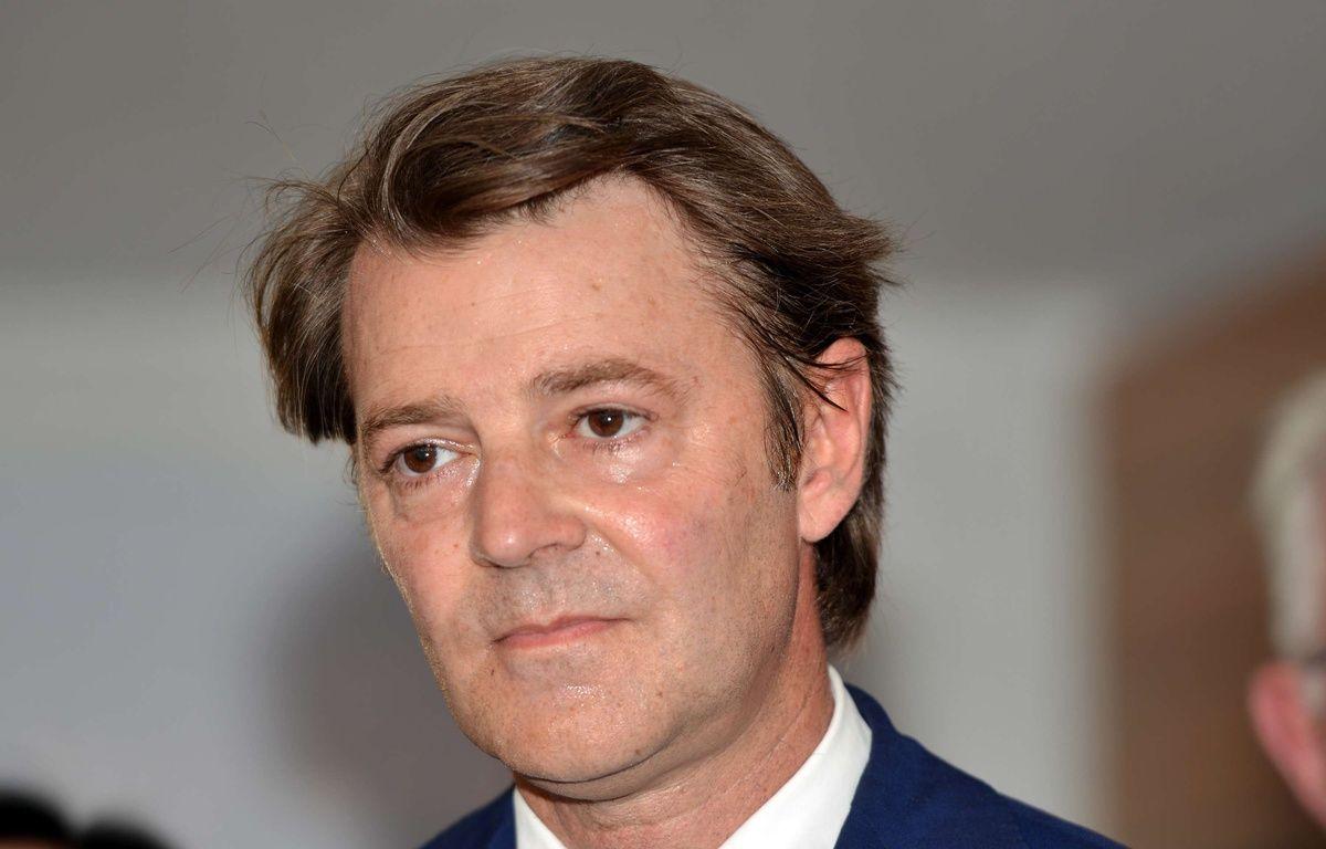 François Baroin, chef de file LR pour les législatives, le 23 mai 2017.  – ALLILI/SIPA