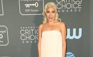 La chanteuse et actrice Lady Gaga