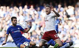 Cesc Fabregas face à Burnley