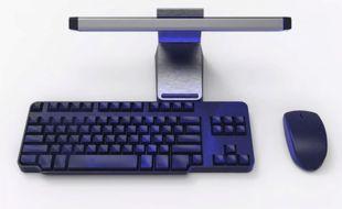 Une lampe pour clavier anti-Covid et antibactérienne