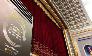 Le cinéma L'Odyssée, à Strasbourg, a installé des purificateurs d'air.