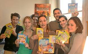 L'équipe de Bioviva, à Montpellier.