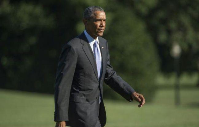 R fugi s obama souhaite que les etats unis accueillent 10 for Barack obama a la maison blanche