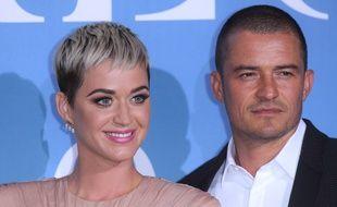 Katy Perry et son compagnon, Orlando Bloom.